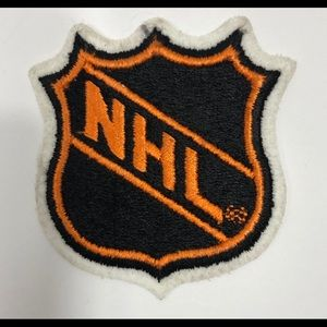 NHL Logo Embroidered Patch Iron/Sew on Fabric NEW